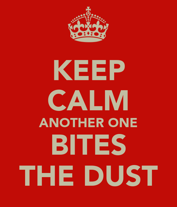 another one bites the dust essay Essays & stories i wish i could fold another one bites the dust the one we hear about most often is pressure from the persian gulf carriers — emirates.