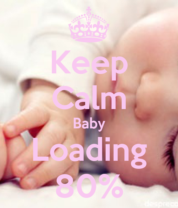 keep calm baby loading 80 poster mona keep calm o matic. Black Bedroom Furniture Sets. Home Design Ideas