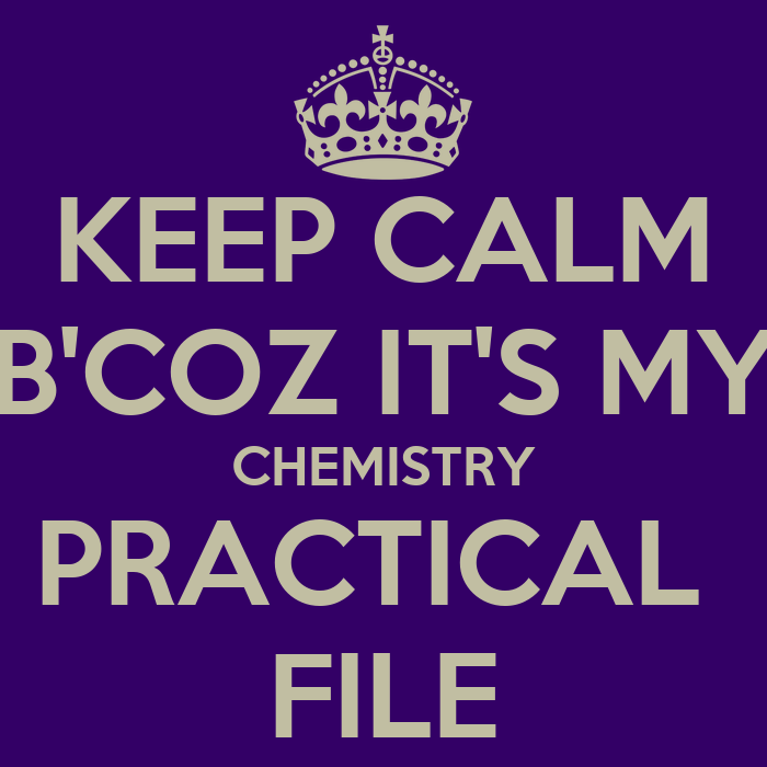 chemistry practical Well the type of viva questions depends at what time your viva is being taken, if you are the student who will be called at the beginning (refer to roll list for this info) then prepare all chemistry topics well and one particular topic which you .