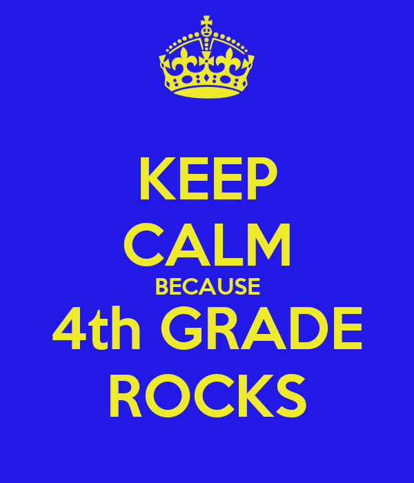 Image result for keep calm fourth grade
