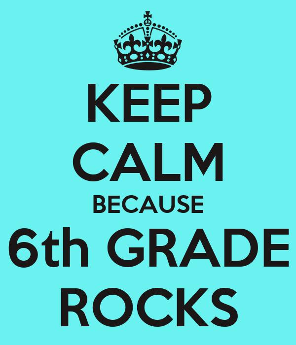 6th Grade Rocks Journal by minddesigngrafx |Sixth Grade Rocks