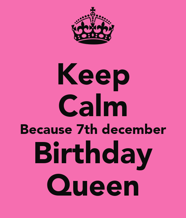 December Birthday December birthday queen