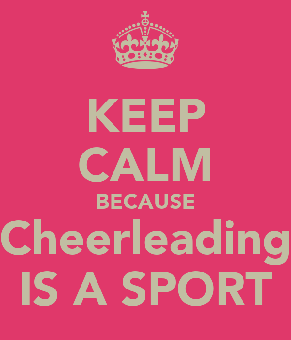 Cheerleading is a sport essay