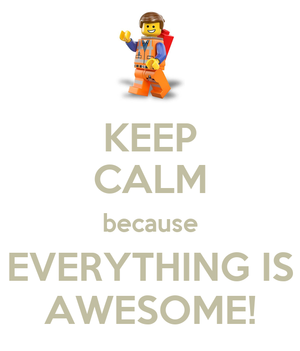 Is There Anyone Else Who Think They R Awesome?