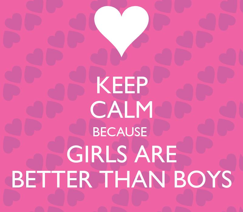 boys are better than girls essay