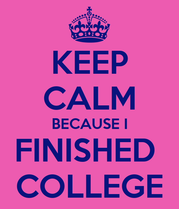Image result for college finished