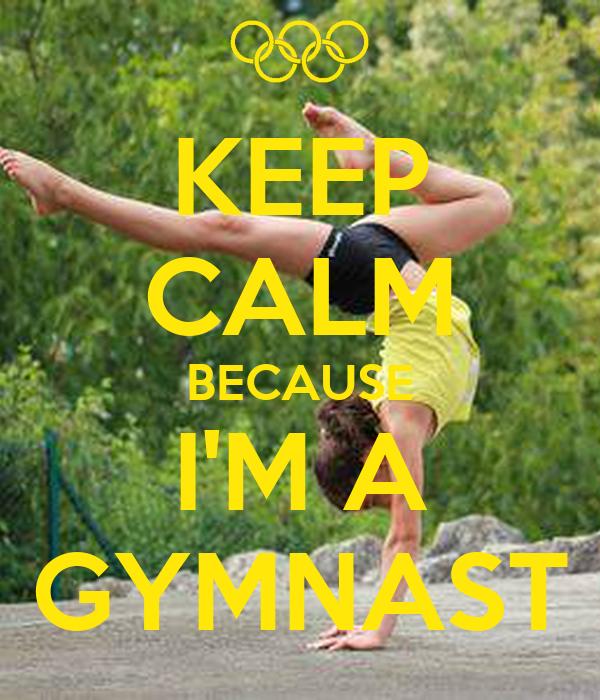 KEEP CALM AND DO GYMNASTICS Poster | montse | Keep Calm-o ...  |Keep Calm Gymnastics
