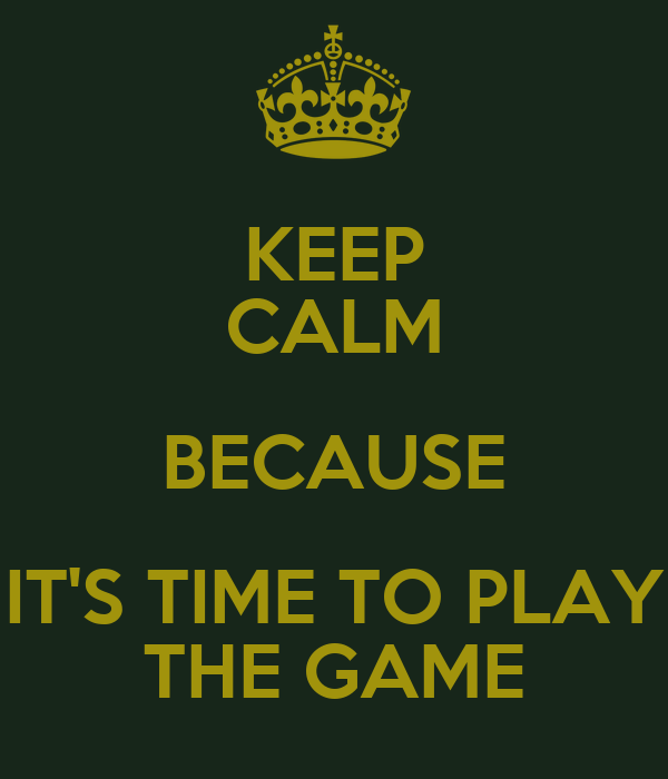 Its time to play the Game - YouTube