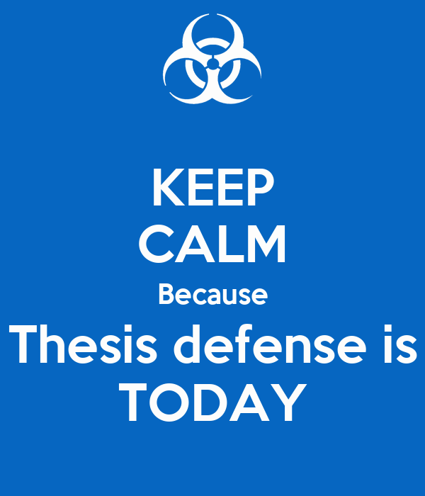 thesis defense committee 3 defense committee has conducted the essential examination of the candidate, questions may be asked by others present if pertinent, appropriate as determined by.