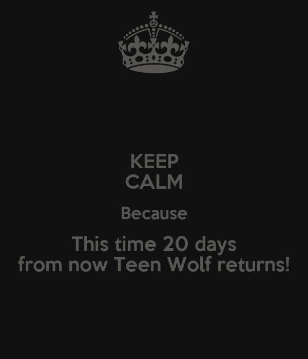 Teen wolf return date in Australia