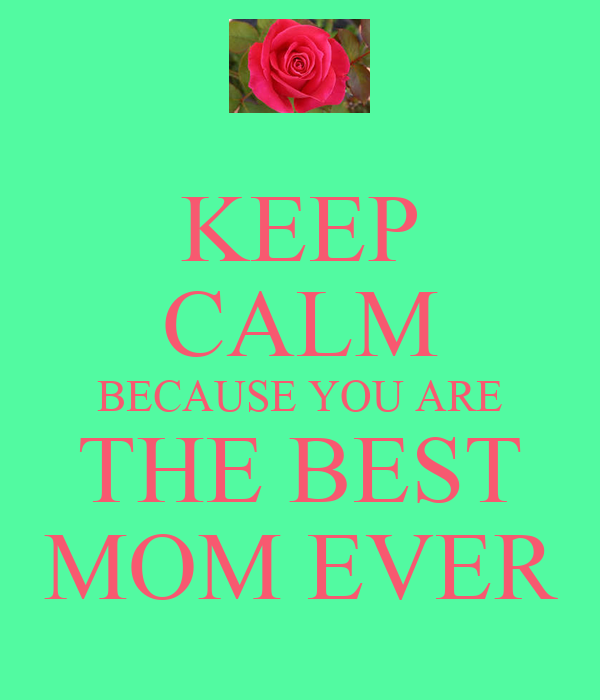 """Mother's day throw pillow cover """"You are the best mom ever ... 