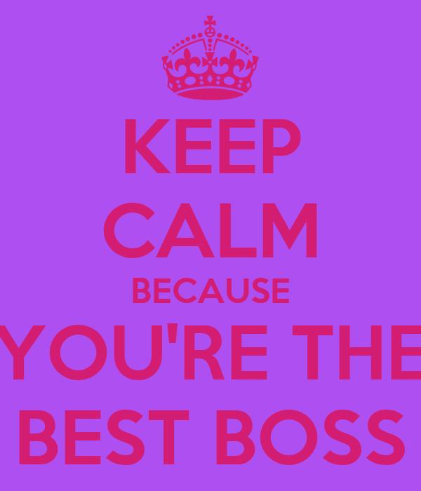 The Best Boss Ever