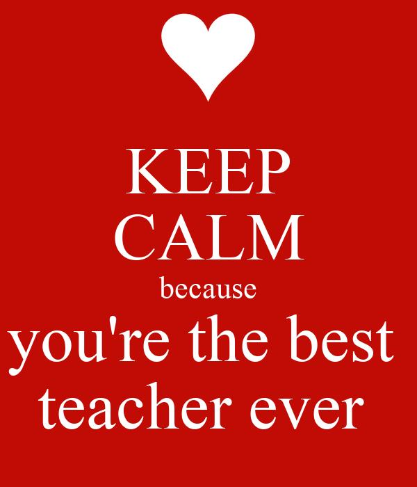 Best Teacher Quotes: Best Teacher Ever Quotes. QuotesGram