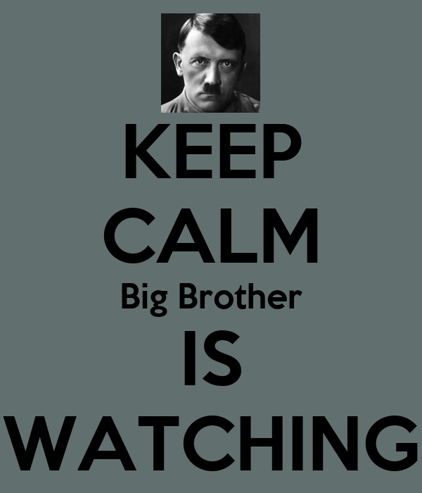 Big Brother is Watching You Wallpaper Keep Calm Big Brother is