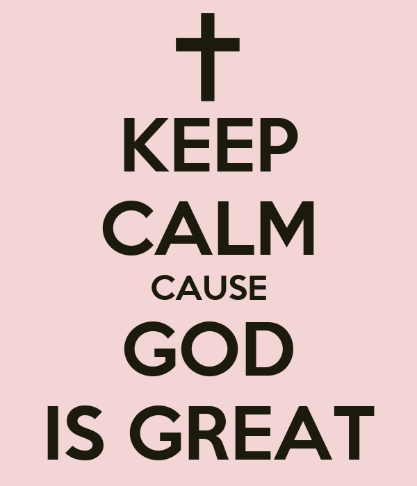 god is great God is great lyrics by hillsong united: all creation cries to you / worshipping in spirit and in truth / glory to the faithful one jesus.