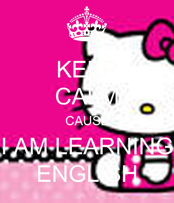 Why are you studying English?