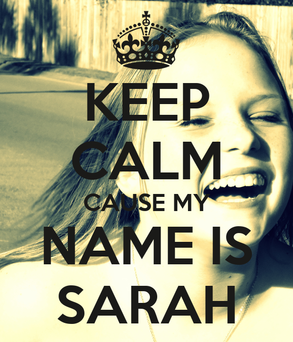 Sarah name wallpaper widescreen wallpaper