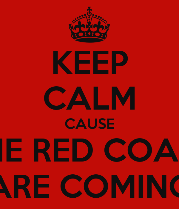 Red Coats Are Coming - Coat Nj
