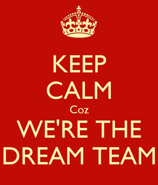 The Dream Team - Magazine cover