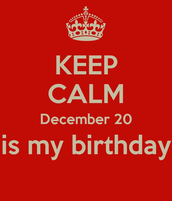 keep calm my birthday