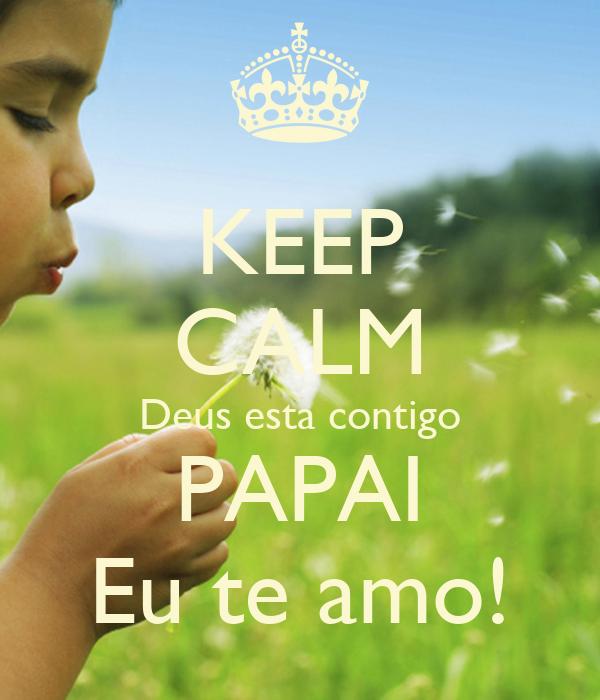 Deus Esta Contigo Facebook Keep Calm Deus Esta Contigo