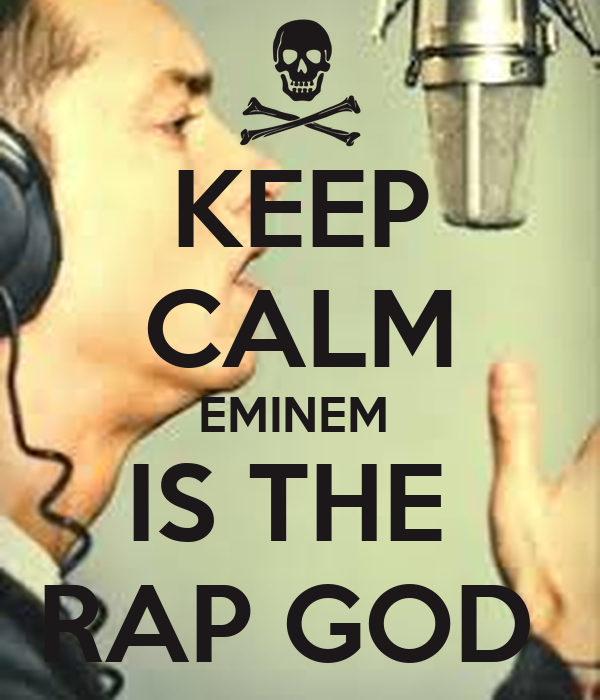 how to sing rap god