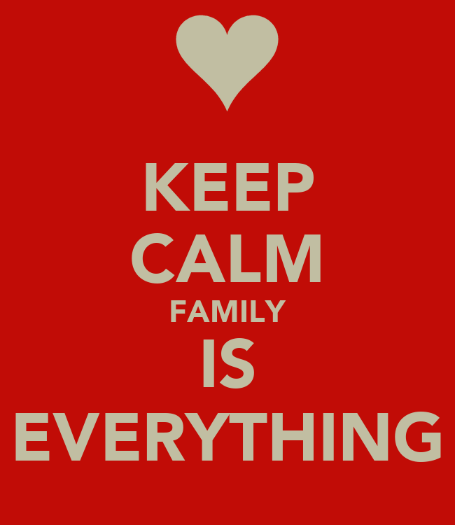 keep calm family is everything poster ashley keller keep calm o matic. Black Bedroom Furniture Sets. Home Design Ideas