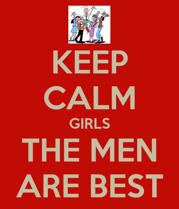 Men are best
