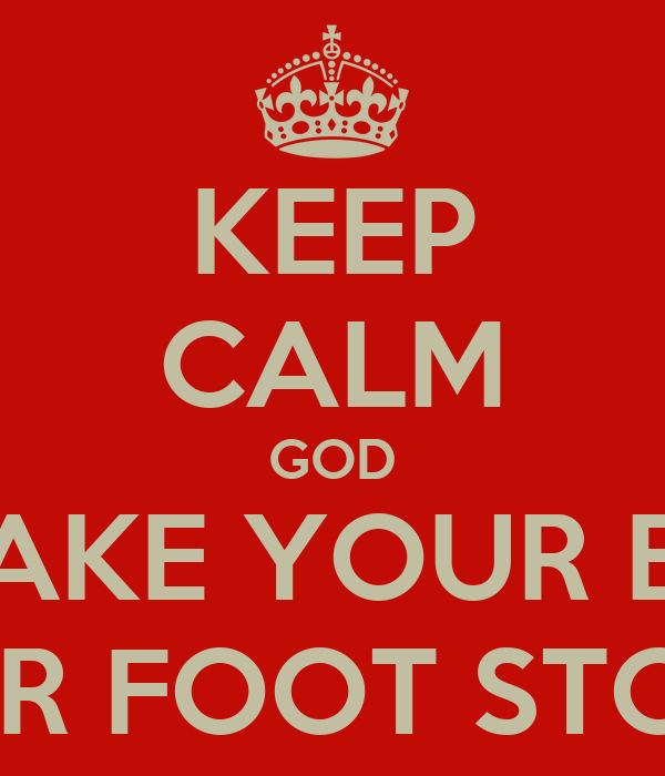 Astounding Keep Calm God Will Make Your Enemies Your Foot Stools Poster Unemploymentrelief Wooden Chair Designs For Living Room Unemploymentrelieforg