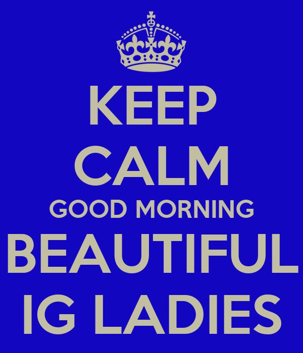 Good Morning Beautiful Lady Auto Design Tech