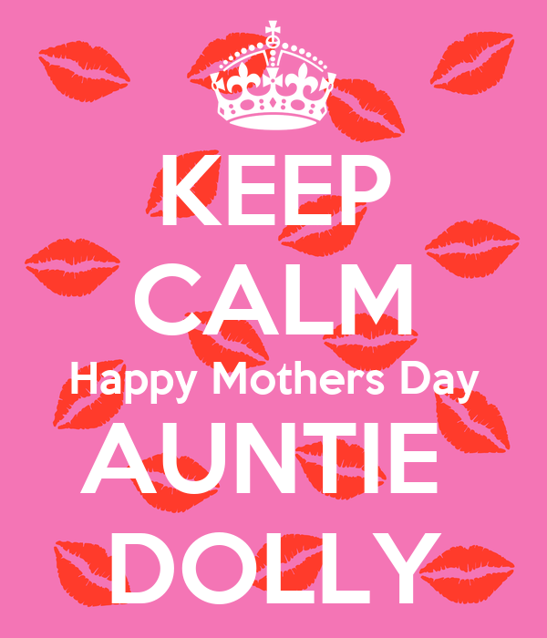 keep calm happy mothers day auntie dolly poster codie keep calm