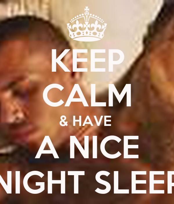 how to get nice sleep at night