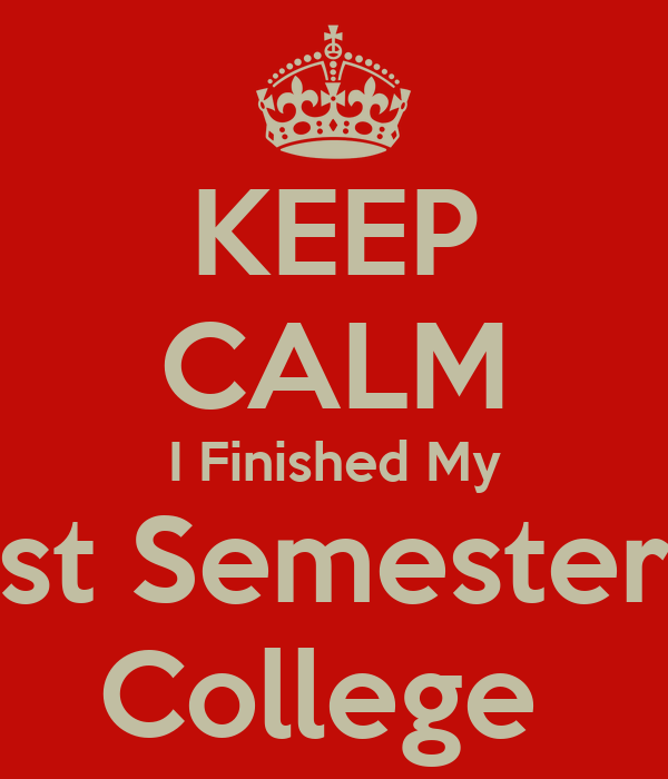 15 Things You'll Learn Your First Semester of College