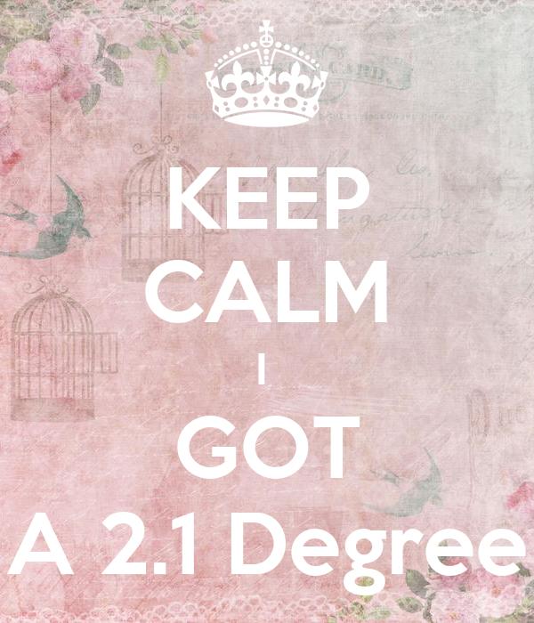 KEEP CALM I GOT A 2.1 Degree Poster | Deborahdunphy | Keep Calm O Matic  2 1 Degree