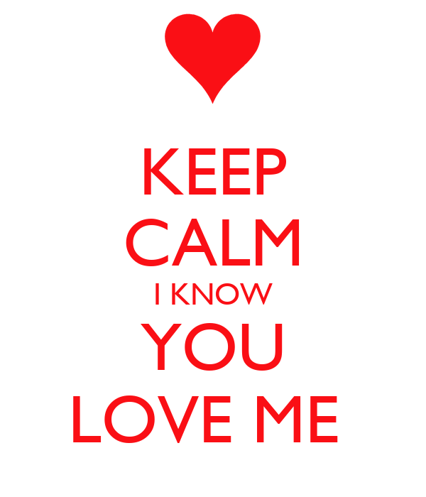 love me to love you:
