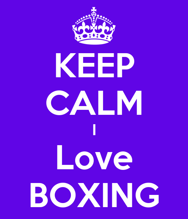 H boxing poster