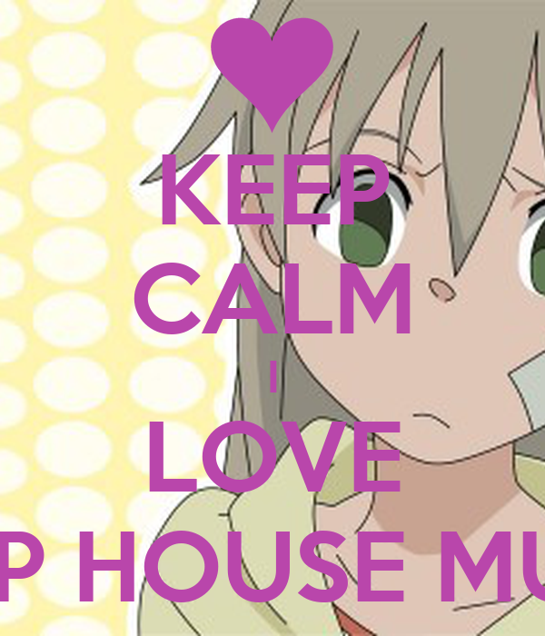 keep calm i love deep house music poster keep calm o matic