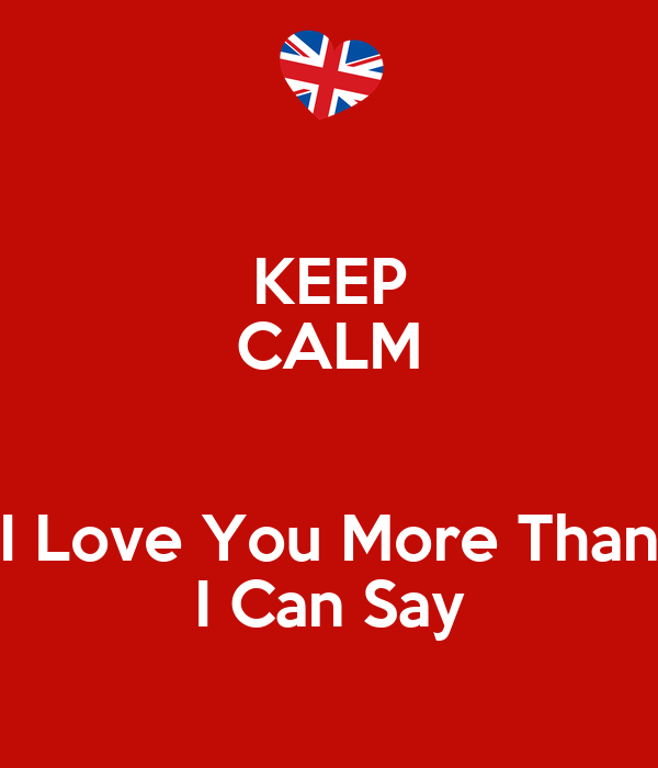 Download I Love You More Than I Can Say