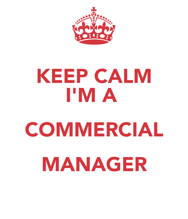 how to become a commercial manager