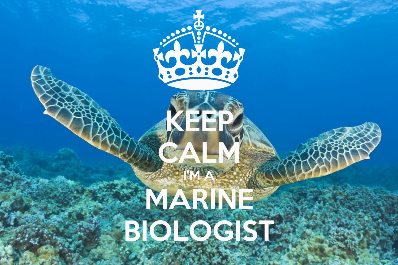 KEEP CALM I'M A MARINE BIOLOGIST Poster | ana | Keep Calm ...