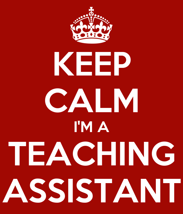 teaching assistantship essay Sample essay note: this essay as an ms student i have held a research assistantship position for the last year and a half, working both at the university and.