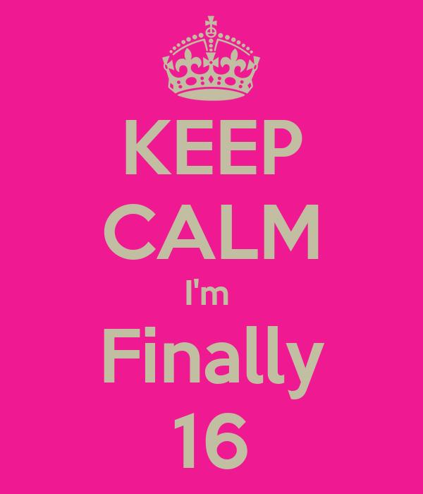 Finally ... yeah keep-calm-i-m-finall
