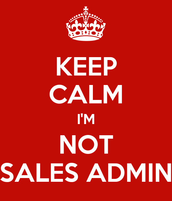 sales admin Sales support administrators provide vital support to a company's sales team they handle important administrative tasks, such as order processing, and act as an extension of the sales team.