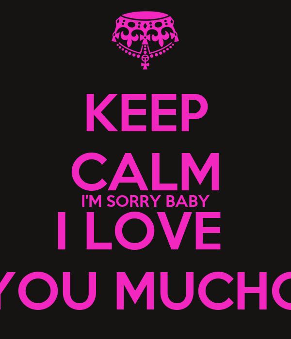 Im Sorry Babe Quotes. QuotesGram