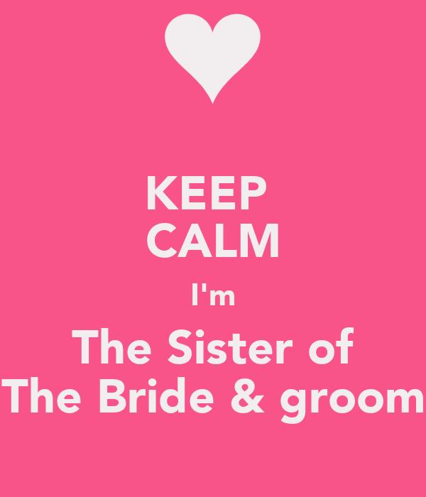 Sister the Groom