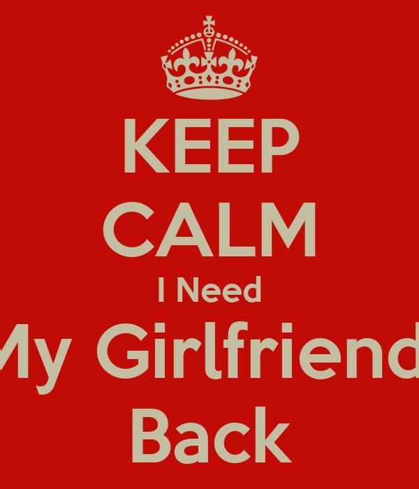 I need a girlfriend