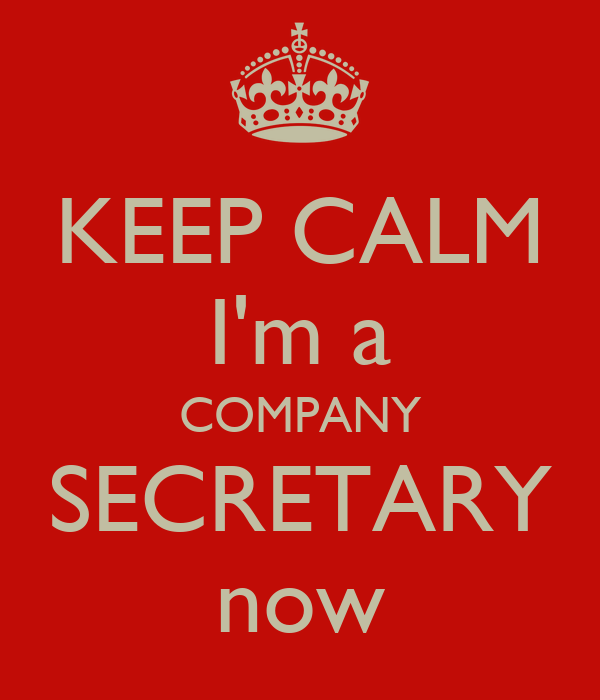 Keeping Calm To Know More About Company Secretary Now?