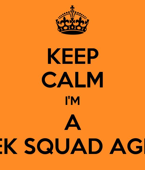 Geek Squad Agent Keep Calm I'm a Geek Squad
