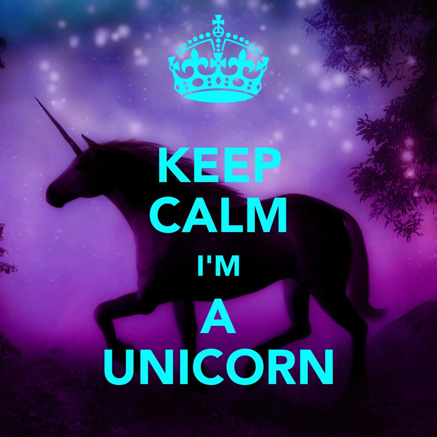 keep calm i 39 m a unicorn poster kenia martinez keep calm o matic. Black Bedroom Furniture Sets. Home Design Ideas