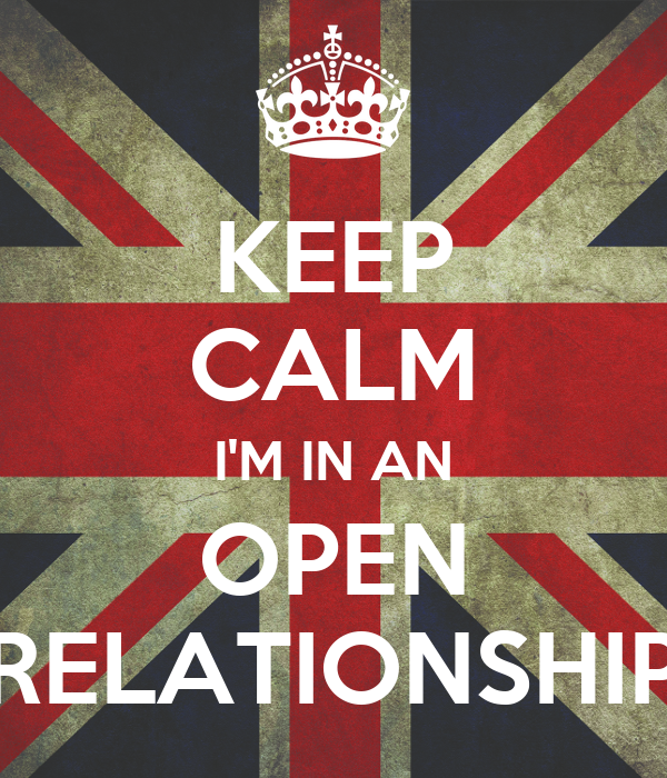 I want an open relationship